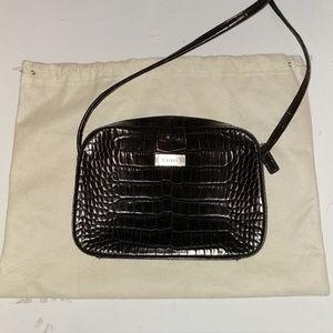 Ralph Lauren, Dark Mahogany Mini Bag